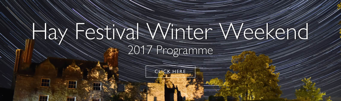Festive magic for all the family at Hay Festival Winter Weekend, 23-26 November 2017